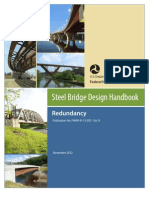 STEEL BRIDGE DESIGN (ASSHTO) Redundancy