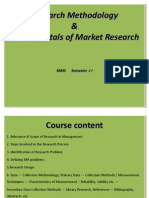 1 Research Methodology