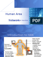 Human Area Networking Technology