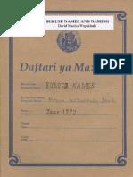 Bukusu Names and Naming