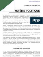 Cours Sociologie Politique Systeme