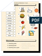 Islcollective Vocabulary Matching Worksheet Food 225024d6513f71a6191 55414418