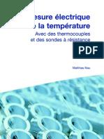 Mesure Electrique de La Temperature