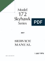 Cessna 172 service manual 1977