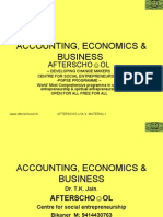 Accounting Economics and Business 20 Nov
