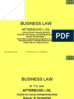 Business Law 19 Nov