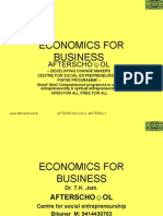 Accounting & Economics for Business 6 November