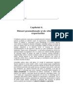 Curs.capitolul 4 Politici Comerciale - Măsuri promoţionale şi de stimulare a exporturilor