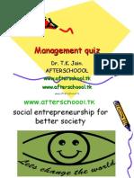 Busines Quiz Management Quiz