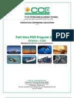 PhD Program Guide _Civil
