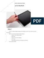 Teardown Manual for iPad Wi-Fi
