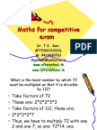 maths 20 May 1