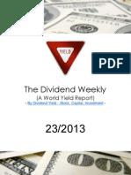 Dividend Weekly 23-2013