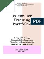 CARCILLAR PortFolio Practicum II