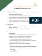 Modul 1 QRE-Statistik Deskriptif, Uji Hipotesis, ANOVA