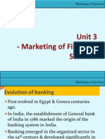 Unit 3-Marketing of Financial Services