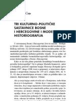 Srećko Džaja - Tri kulturno-političke sastavnice BiH i moderna historiografija