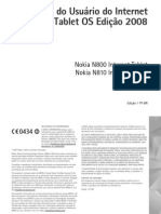 Nokia N800 UserGuide PT