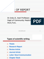 Research Writing Report