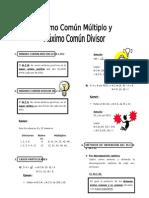 IV Bim - ARIT. - 4to. año - Guía 4 -MCM-MCD