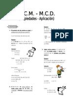IV Bim - ARIT. - 4to. año - Guía 5 -MCM-MCD II