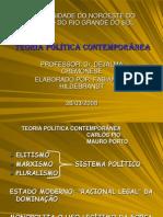 TEORIA POLÍTICA CONTEMPORÂNEA - Carlos Pio e Mauro Porto