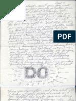 Sol Eva Letter
