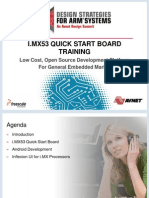 Freescale-FRS iMX53_Mentor Inflexion Quick Start Board Training FINAL