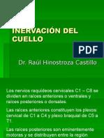 Inervacion de Cuello - Dr. Hinostroza