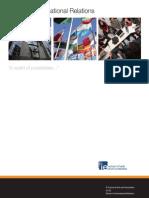 IE Master in International Relations Brochure