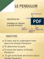 Simple Pendulum(Int.)