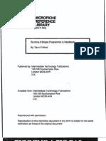 Running a Biogas Programme Handbook 1988