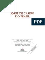 Josue de Castro e o Brasil