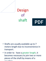 design of shafts couplings-ppt