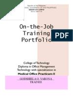 Portfolio PracticumII
