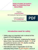 BenchMarking Studies on Safety Management in Construction Industries