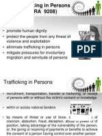 Anti -Trafficking in Persons