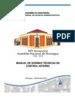 Manual de Normas Tecnicas de Control Interno de La Asamblea Nacional 1