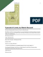 Alberto Boccardi - Il Peccato Di Loreta