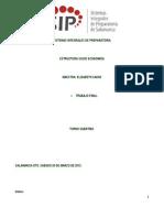 Extructura Socio Economica