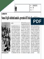 Premiazione Scuola Amica a.s. 2012-2013