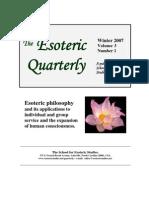 EQ030107--Beg Esoteric Quartery 2007