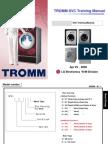 Lg Tromm Washing Machine Front Load Training Manual 2008