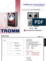 Lg Tromm Washing Machine Front Load Training Manual 2008