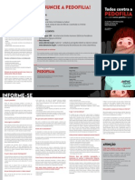 2013 Folder - 063-13 Todos Contra a Pedofilia - Folder