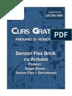 Arduino Flex Sensor Brick Bionic Finger