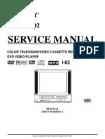 Memorex Mod. Mvdt2002sm Tv-dvd-Vhs