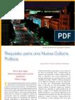 Requisito para una Nueva Cultura Política (Revista Documentación, Nº20 - Noviembre/Diciembre 2008-ISSN 1988-5032, Fundación Ciencias de la Documentación-España)