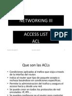 4 Lista de Acceso