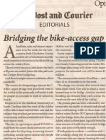 Post & Courier Bridge Bike Lanes Editorial 6-8-13